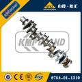 Vilebrequin du moteur Komatsu S6D170 6162-33-1202 6162-33-1201