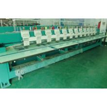 12 cabeças máquinas de bordar liso velocidade 850rpm bordado tamanho 400 * 800 milímetros