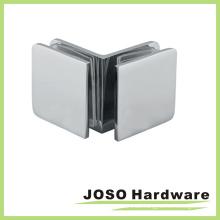 90 Grad Glas zu Glas Dusche Tür quadratische Glashalterung (BC102-90)