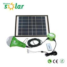 CE útil nuevo portátil led linterna solar para la iluminación casera con cargador de teléfono móvil