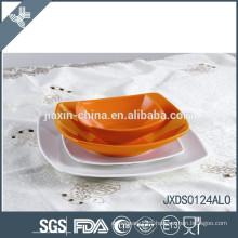 Factory direct 24pcs porcelain Dinner set, colored porcelainware