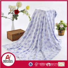 sleepwear picnic printing blanket double face digital print sherpa blanket