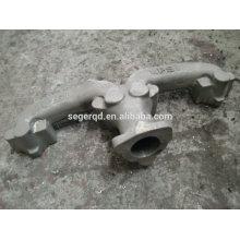 fundición de arena de concha de resina de metal con mecanizado