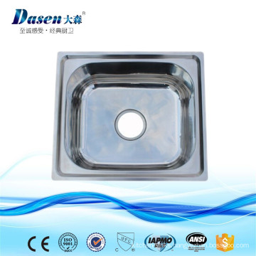 Best Quality Undermount Acrylic Caravan Kitchen Stainless Steel Sinks With Faucet