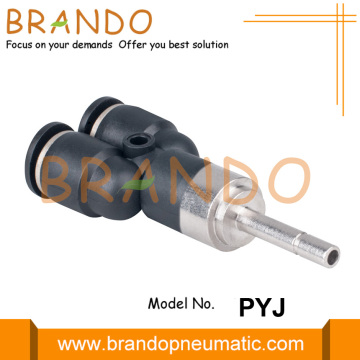PYJ Plug-In Y Push In Pneumatic Hose Fittings