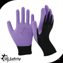 SRSAFETY 13-дюймовый латекс с латексной латукой с лаковым лаймом и фиолетовым покрытием
