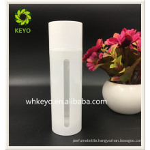 30ml 150ml Hot sale high quality white empty cosmetic airless pump lotion bottle