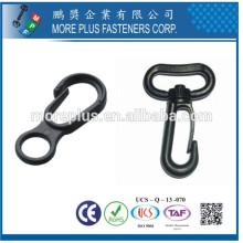 Fabriqué en Taiwan Plastic Swivel Mini Snap Hooks