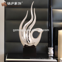 Decoration home decor resin art craft welcome modern decoration hand shape statue