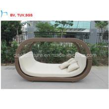 Patio Swimming Poor Garden Furniture Sun Bed (CF1279H)