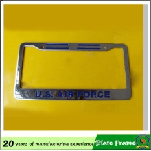 моды Лицензия металлическая пластина раме