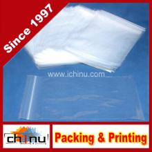 Poly Bag Zipper Resealable Plastik Versand Taschen (940015)