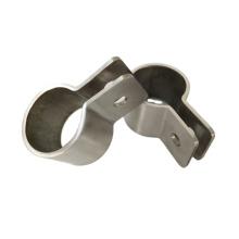 custom brushing polishing tube clamp oem brushed stainless steel tube clamp as per design