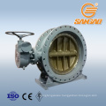 industrial steam water pipe cf3m lcb wcb cf8 double eccentric flange butterfly valve a395 ductile iron butterfly valve dn1000