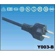 Câble d'alimentation cordon alimentation IEC