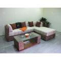 Top Selling Indoor Natural Water Hyacinth Sectional Sofa Set