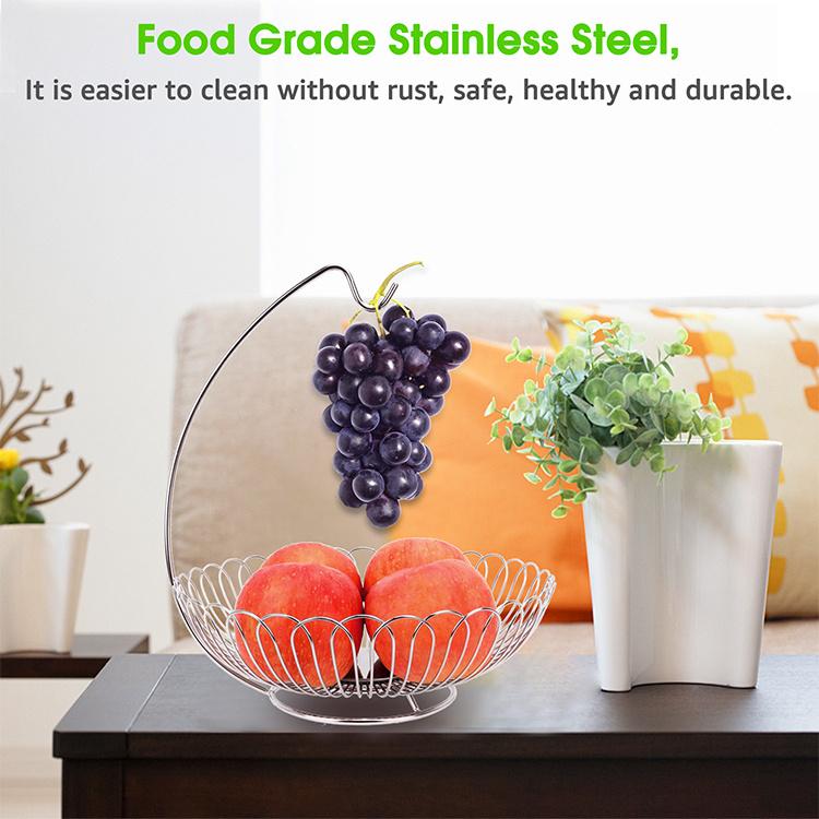 Stainless Steel Fruit Storage Basket