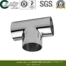 Stainless Steel Seamless Tee with ASTM (316TI)