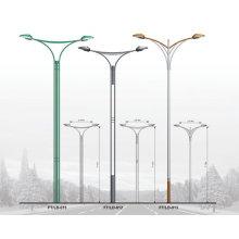 2015 la mejor venta Lámpara de acero del nuevo poste redondo redondo
