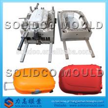 carrinho de viagem de plástico manufatura de molde de caixa de bagagem