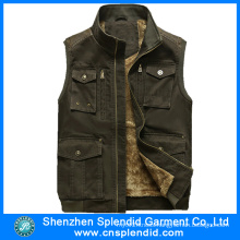 Custom High Quality Fashion Denim Vest for Boys