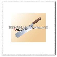 U058 espátula perforada de acero inoxidable de 365 mm