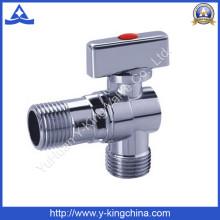"""1/2 """"-3/4"""" Хромированный латунный шаровой угловой клапан (YD-5033)"""