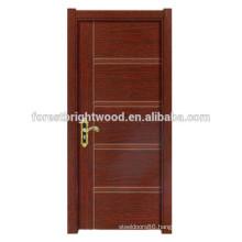 Popular Design Swing Melamine Wooden Door