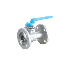 Lever Floating Ball Valve Stainless Steel