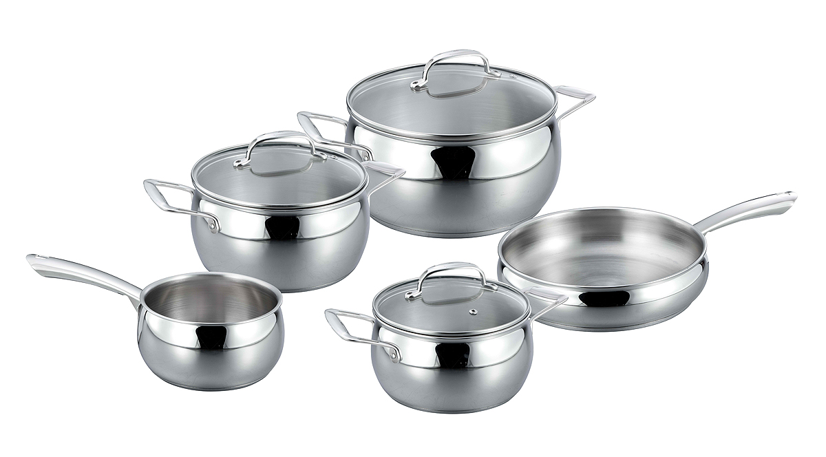 High quality apple shape cookware set
