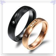 Accesorios de moda Anillo de joyería de acero inoxidable (SR559)