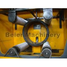 Déchiqueteur à tuyau de grand diamètre et unité de concassage