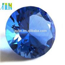 80mm crystal paperweight diamond cut / wedding souvenirs / decor home / doorgift