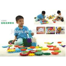 Patrón de engranaje grande juguete bloques de plástico juguete de bloques con nuevo estilo