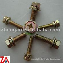 hex head brass bolts