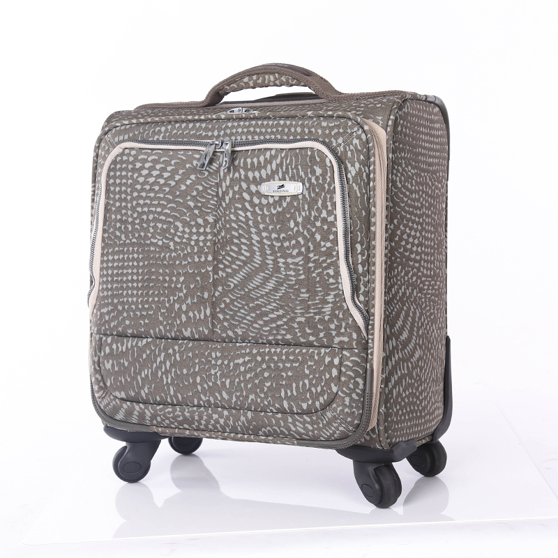 travel PU leather suitcase set