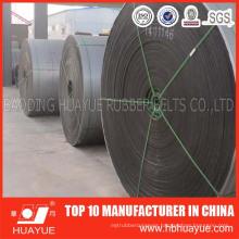 Abrasion Resistant Rubber Ep / Polyester Conveyor Belt Manufacturer