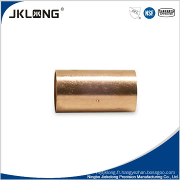 Couplage de tuyau, accouplement à fossette CXC, raccord de cuivre nanocouleur NPC certifié NSF