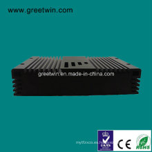 20dBm Egsm Dcs1800 de doble banda de impulsor móvil / repetidor de señal (GW-20ED)