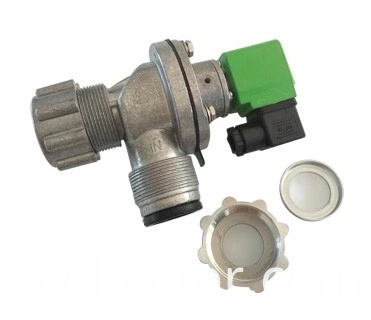 High frequency diaphragm type solenoid valve
