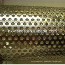 élément de filtre d'acier inoxydable / tuyau de filtre / tube de filtre de poinçon