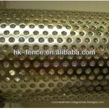 stainless steel filter element/filter pipe/Punching filter tube