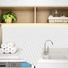 Adesivos de mosaico autoadesivos à prova d'água para interiores