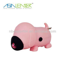 MINI Dog Hand Crank Rechargeable Torch