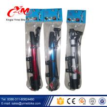 Hot sale Portable bicycle air pump parts / best floor pump /pocket bike mini pump
