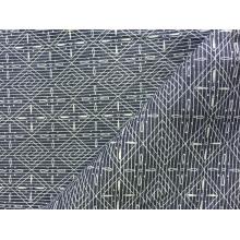 100% Baumwolle Indigo Print Denim