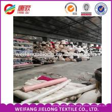 Tejido de popelina teñido T / C Tejido de popelina stock para tejer Tejido de popelina T / C para ropa de trabajo de verano