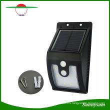 10 светодиодов солнечный свет Открытый с датчиком движения солнечные лампы 300 Люмен Водонепроницаемый сад безопасности лампы