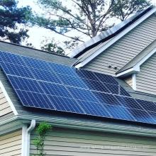 Chinese supplier cheap price ja solar LONGi Risen Trina 144cells half cell 450W 5bb MBB 12BB Mo