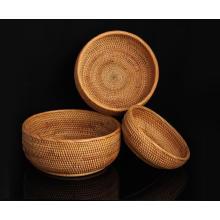 (BC-R1014) Manual Craft Natural Rattan Basket/Gift Basket